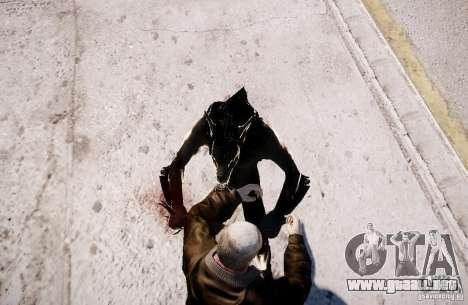 Werewolf from Skyrim para GTA 4 sexto de pantalla