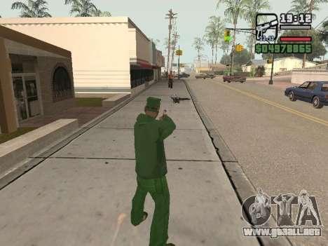 Ragdoll + Endorphin mod v1.0 para GTA San Andreas tercera pantalla