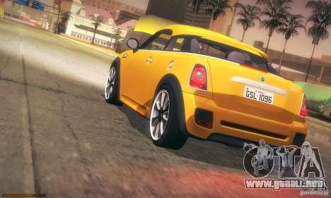 Mini Concept Coupe 2010 para la vista superior GTA San Andreas
