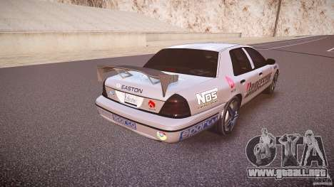 Ford Crown Victoria Tuning (Beta) para GTA 4 vista lateral