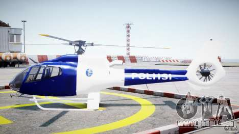 Eurocopter EC 130 Finnish Police para GTA 4 left