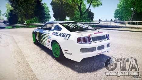 Ford Mustang GT Falken Tire v2.0 para GTA 4 Vista posterior izquierda