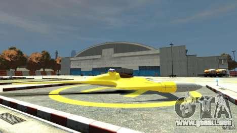 Naboofighter para GTA 4 left