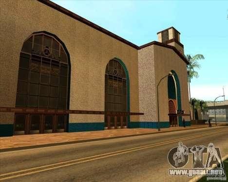 Nueva estación de unidad para GTA San Andreas