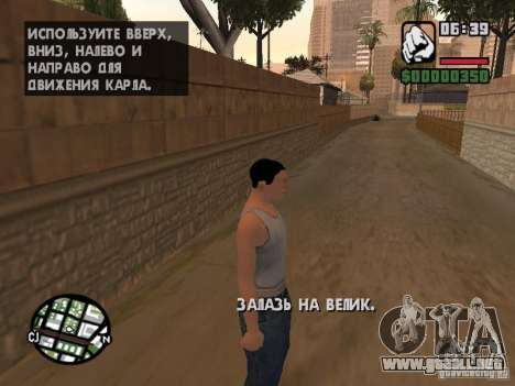 Skin para CJ-Cool guy para GTA San Andreas tercera pantalla