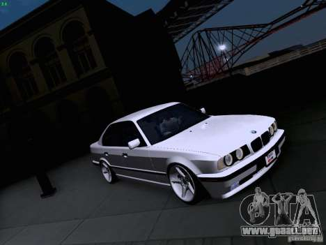 BMW M5 E34 Stance para GTA San Andreas left