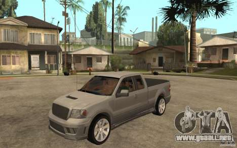 Saleen S331 Super Cab para GTA San Andreas