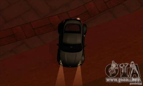 Nissan 370z Drift Edition para visión interna GTA San Andreas