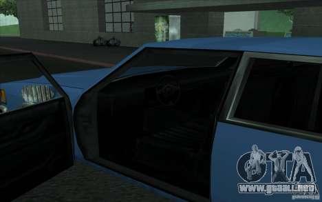 Civilian Police Car LV para la visión correcta GTA San Andreas