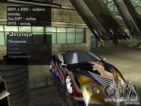 Thunderbold SlapJack para GTA San Andreas
