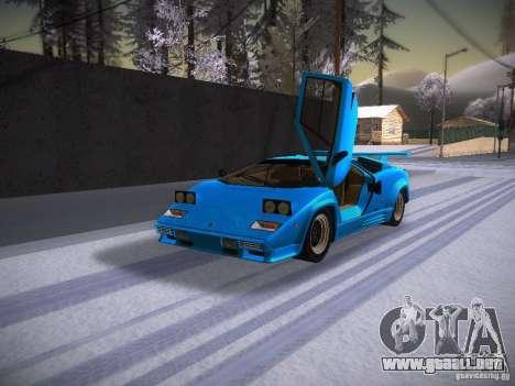 Lamborghini Countach LP5000 para GTA San Andreas left