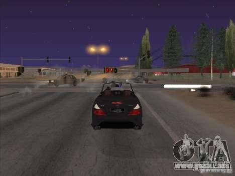 Campo de fuerza para GTA San Andreas sucesivamente de pantalla