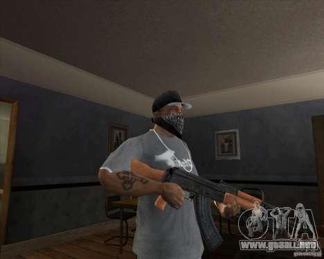 AK-47 actualizado para GTA San Andreas