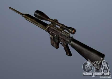 CS Guns Beta 1B para GTA San Andreas novena de pantalla