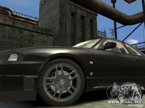 Nissan Skyline GT-R V-Spec (R33) 1997 para GTA 4 left