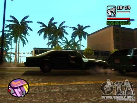 ENBSeries v2 para GTA San Andreas quinta pantalla