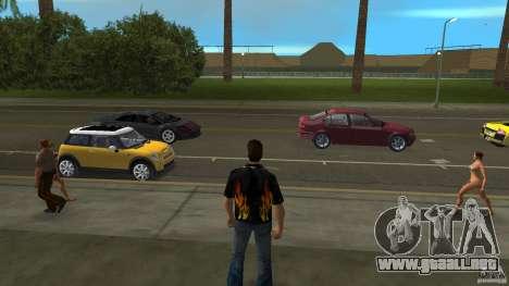 Señor fuego con blue jeans para GTA Vice City segunda pantalla