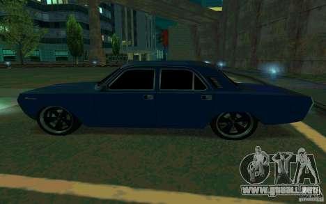 Volga GAZ 24 v2 (beta) para GTA San Andreas left