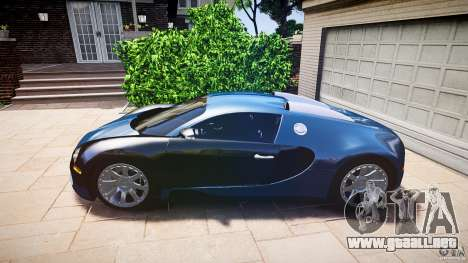 Bugatti Veyron 16.4 v3.0 2005 [EPM] Strasbourg para GTA 4 Vista posterior izquierda