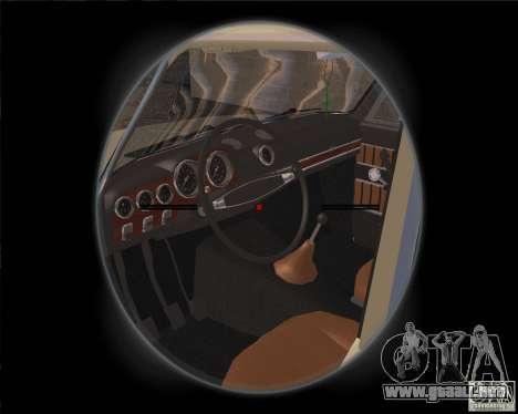 VAZ-2103 para GTA San Andreas vista hacia atrás