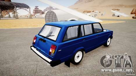 VAZ 2104 Final Fix (sin tonificación) para GTA 4 left