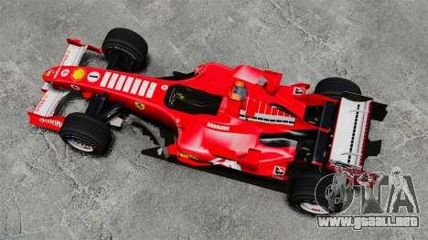 Ferrari F2005 para GTA 4 visión correcta