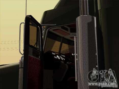 Freightliner FLD 120 Classic XL para visión interna GTA San Andreas