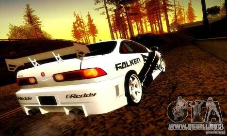 Acura Integra Type R para visión interna GTA San Andreas