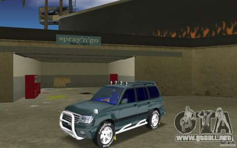 Toyota Land Cruiser 100 para GTA Vice City
