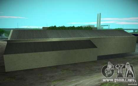 HD Garage in Doherty para GTA San Andreas quinta pantalla