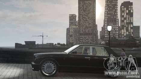 Bentley Arnage T v 2.0 para GTA 4 vista lateral