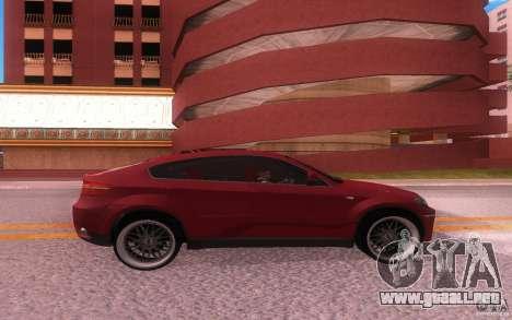 BMW X6 Tuning para la visión correcta GTA San Andreas