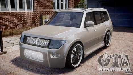 Mitsubishi Pajero Wagon para GTA 4