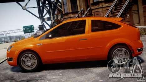 Ford Focus ST para GTA 4 left