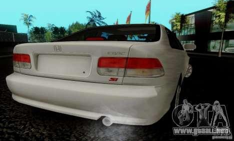 Honda Civic 1999 Si Coupe para GTA San Andreas left