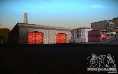 San Fierro Re-Textured para GTA San Andreas sucesivamente de pantalla