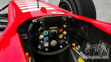 Ferrari F2005 para GTA 4 vista interior