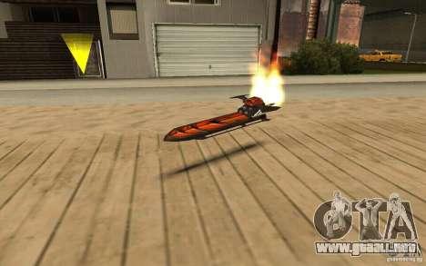 Hoverboard para GTA San Andreas
