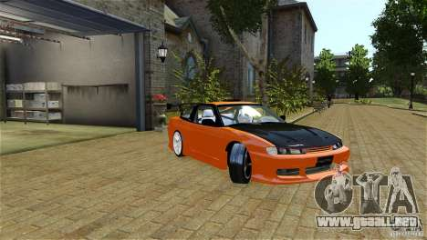 Nissan Sil1480 Drift Spec para GTA 4 left