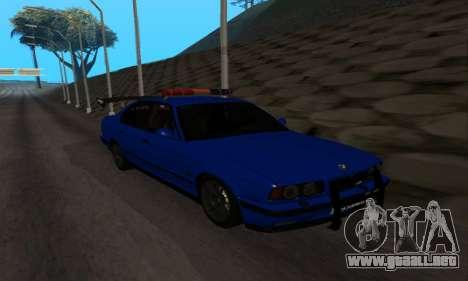 BMW M5 POLICE para GTA San Andreas