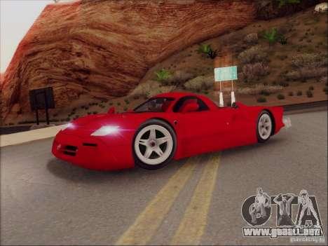 Nissan R390 Road Car v1.0 para GTA San Andreas left