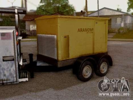 Trailer Generator para GTA San Andreas vista hacia atrás