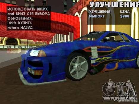 SA HQ Wheels para GTA San Andreas décimo de pantalla