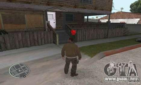 Balas de GTA 4 para GTA San Andreas segunda pantalla