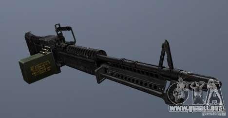 M60 para GTA San Andreas tercera pantalla