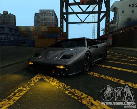 Lamborghini Diablo GTR V1.0 1999 para GTA San Andreas