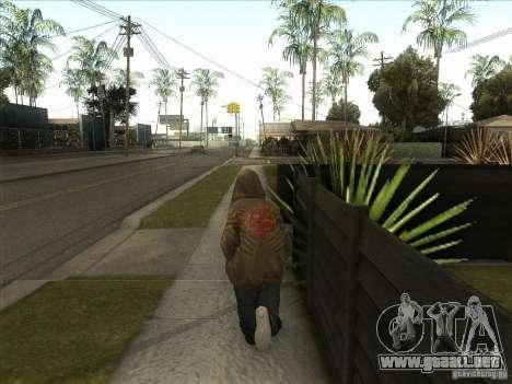 Ryo NFS PS para GTA San Andreas sucesivamente de pantalla