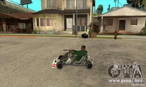 Stage 6 Kart Beta v1.0 para GTA San Andreas left