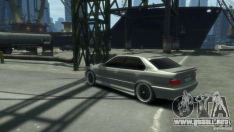 BMW 318i Light Tuning para GTA 4 left