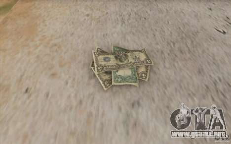 Dinero nuevo para GTA San Andreas tercera pantalla